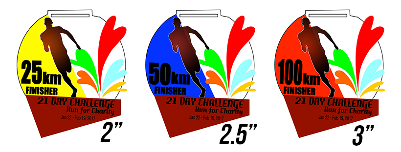 21 DAY CHALLENGE: RUN FOR CHARITY