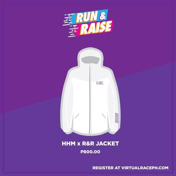 RUN & RAISE ADD-ON JACKET