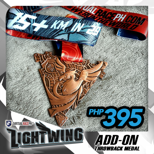 Lightwing Throwback Medal ADD-ON