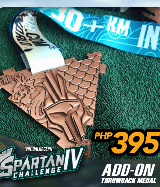 Spartan IV Throwback Medal ADD-ON