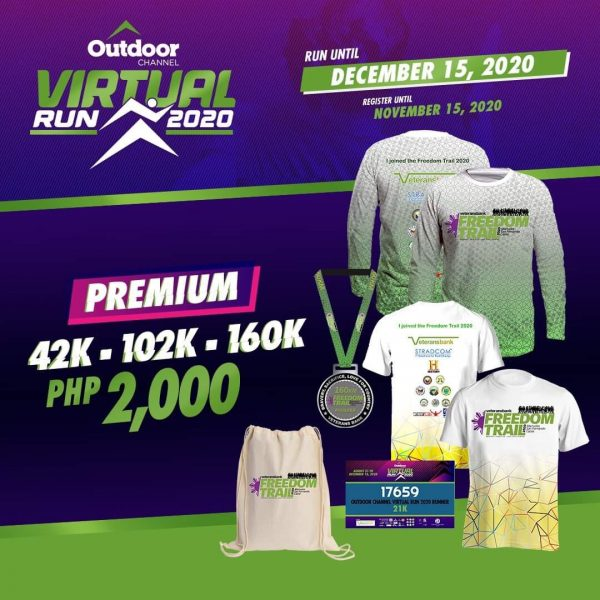 Outdoor Channel Virtual Run 2020 - Premium