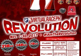 VIRTUALRACEPH REVOLUTION (BAYANI Series – Luzon)